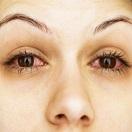 Как сделать красные глаза в домашних условиях